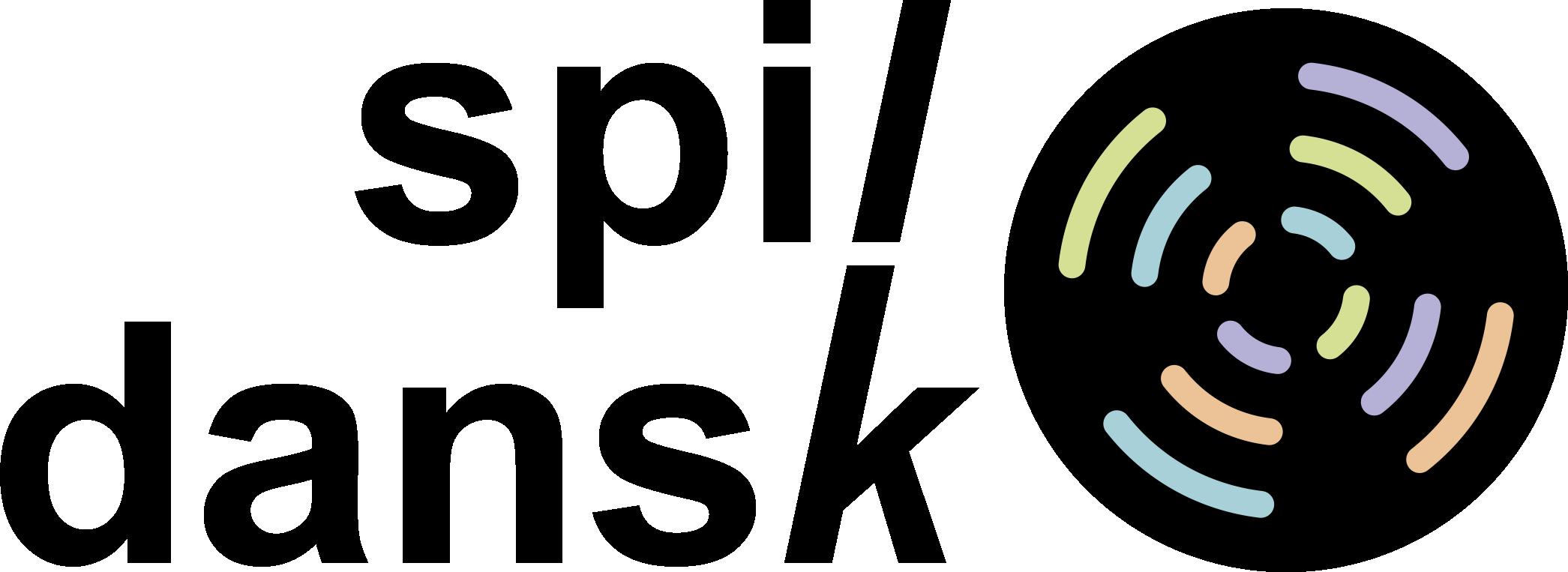 SPIL DANSK logo 1 sort